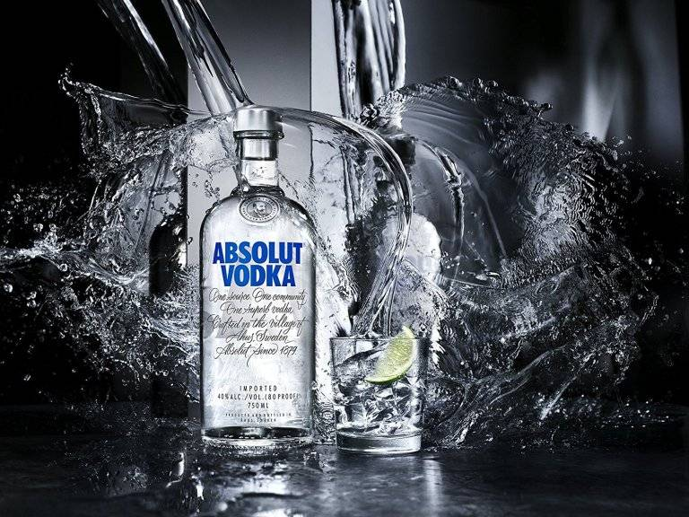 vodka brands in India Absolut image