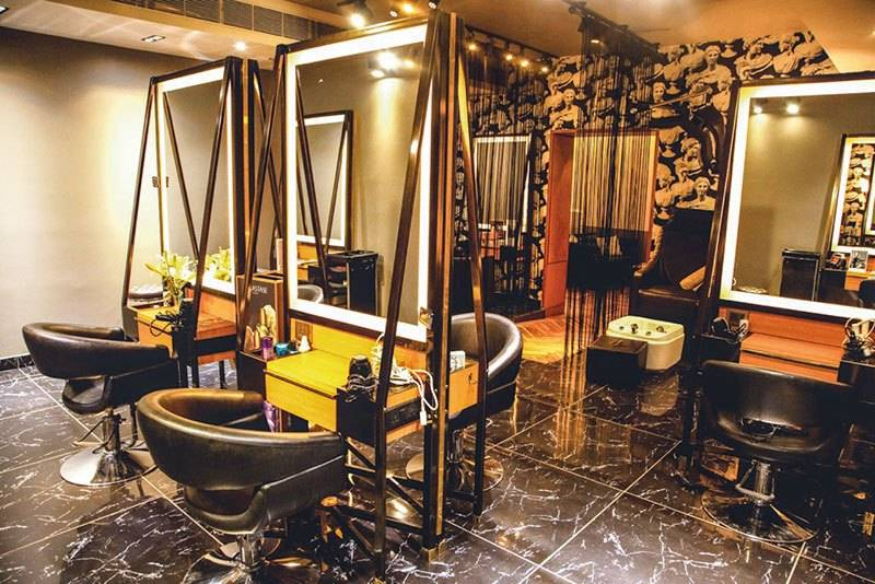 best hair salon in delhi