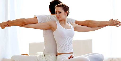 Stretching in New Delhi cover pic