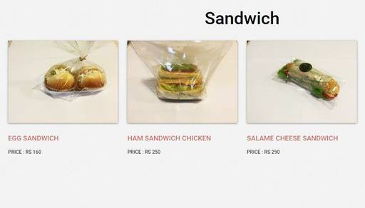 Menu 19 - Sibang Bakery, Golf Course Road, Gurgaon