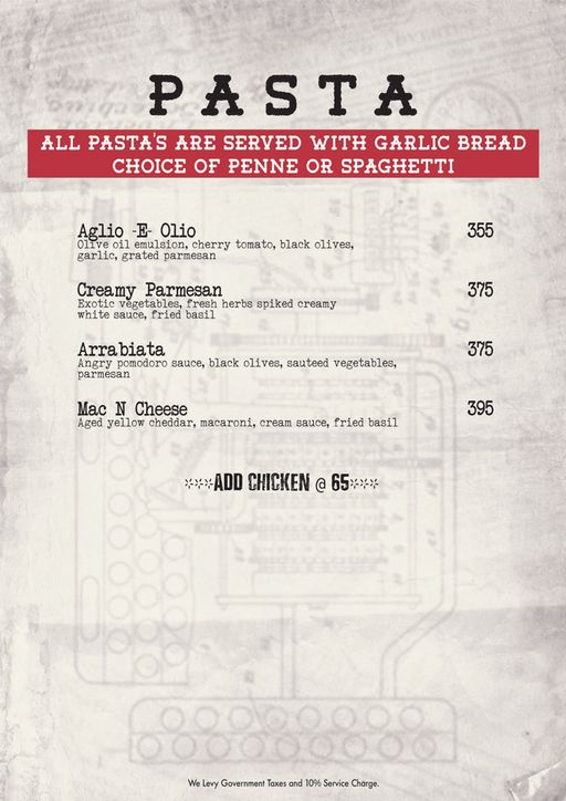 Food Menu 10 of Decode Air Bar, Sector 29, Gurgaon