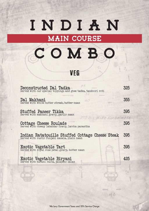 Food Menu 11 of Decode Air Bar, Sector 29, Gurgaon