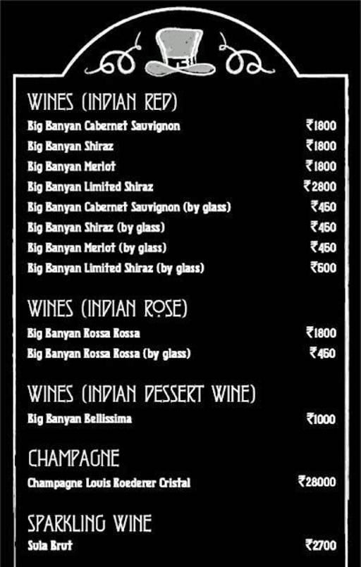 Menu 39 - Murphy's Brewhouse - The Paul, Domlur, Bangalore