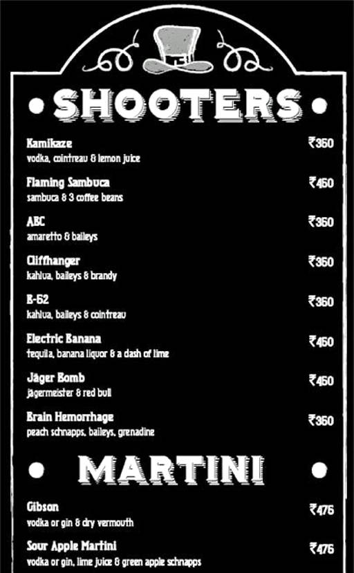 Menu 32 - Murphy's Brewhouse - The Paul, Domlur, Bangalore