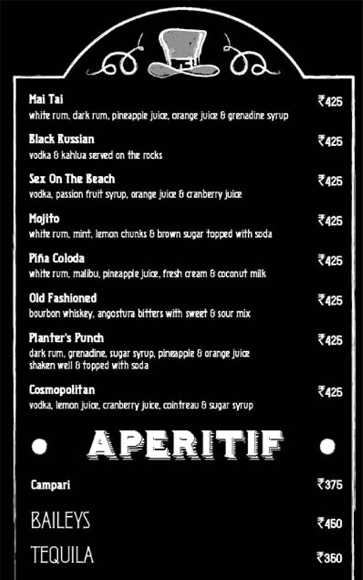 Menu 34 - Murphy's Brewhouse - The Paul, Domlur, Bangalore