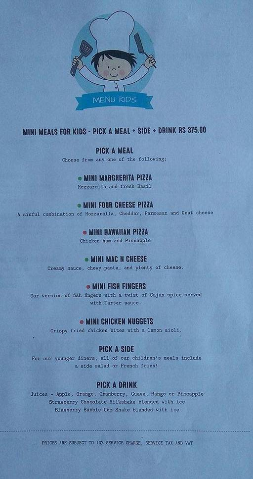 Menu 10 - Roadhouse Cafe, Greater Kailash (GK) 1, New Delhi