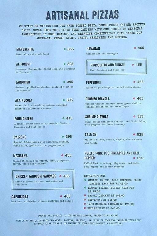 Menu 5 - Roadhouse Cafe, Greater Kailash (GK) 1, New Delhi