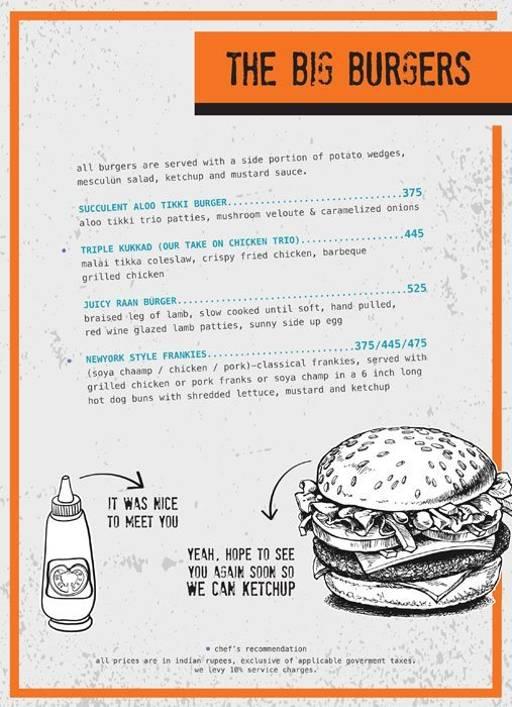 Menu 10 - Ministry Of Beer, Connaught Place (CP), New Delhi