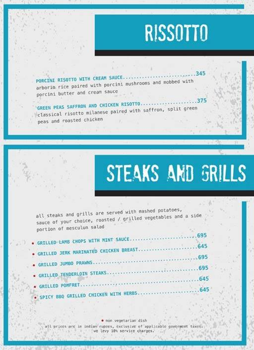Menu 12 - Ministry Of Beer, Connaught Place (CP), New Delhi
