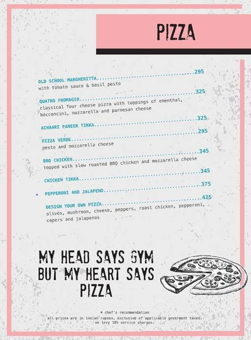 Menu 13 - Ministry Of Beer, Connaught Place (CP), New Delhi