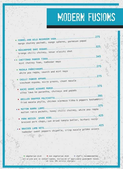 Menu 2 - Ministry Of Beer, Connaught Place (CP), New Delhi