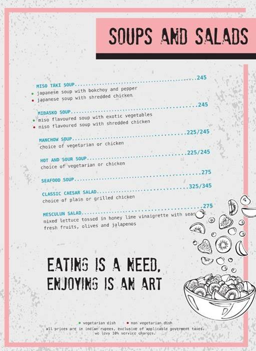 Menu 3 - Ministry Of Beer, Connaught Place (CP), New Delhi