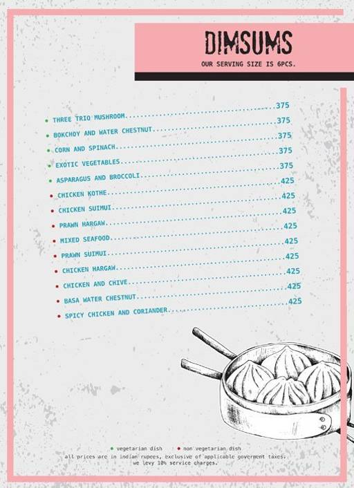 Menu 4 - Ministry Of Beer, Connaught Place (CP), New Delhi