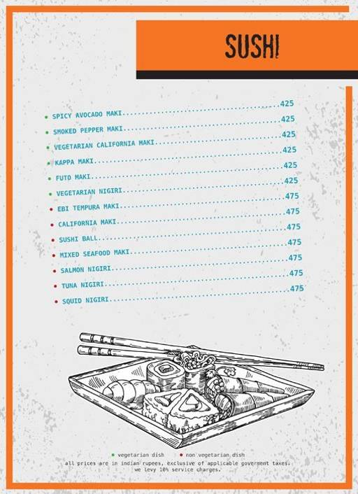 Menu 5 - Ministry Of Beer, Connaught Place (CP), New Delhi