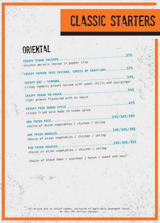 Menu 9 - Ministry Of Beer, Connaught Place (CP), New Delhi