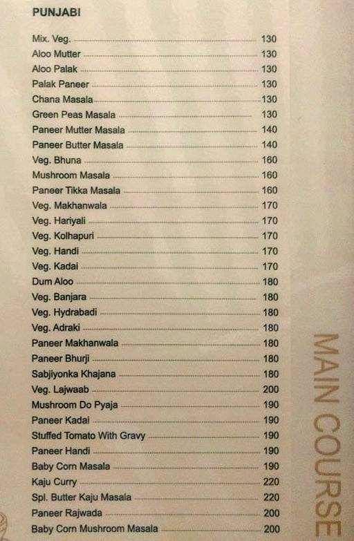 Food Menu 5 of Relax Pure Veg, Parvathi, Pune