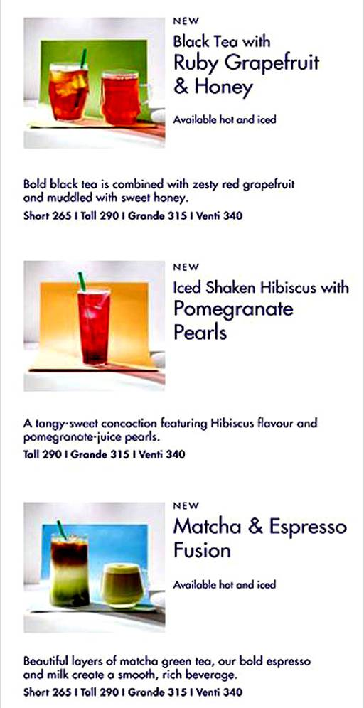 Menu Of Starbucks Fc Road Pune Magicpin