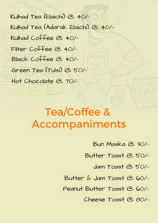 Menu 5 - Smriti's Hinglish Cafe, FC Road, Pune