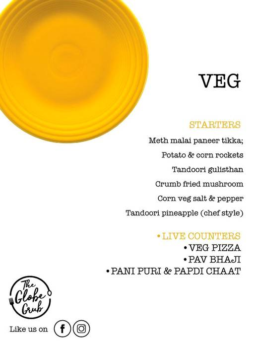 Menu 3 - The Globe Grub, Marathahalli, Bangalore