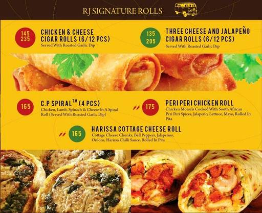 Food Menu 3 of The Rolling Joint, Connaught Place (CP), New Delhi