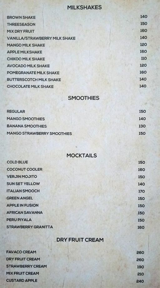 Food Menu 12 of Zaatar, KR Puram, Bangalore