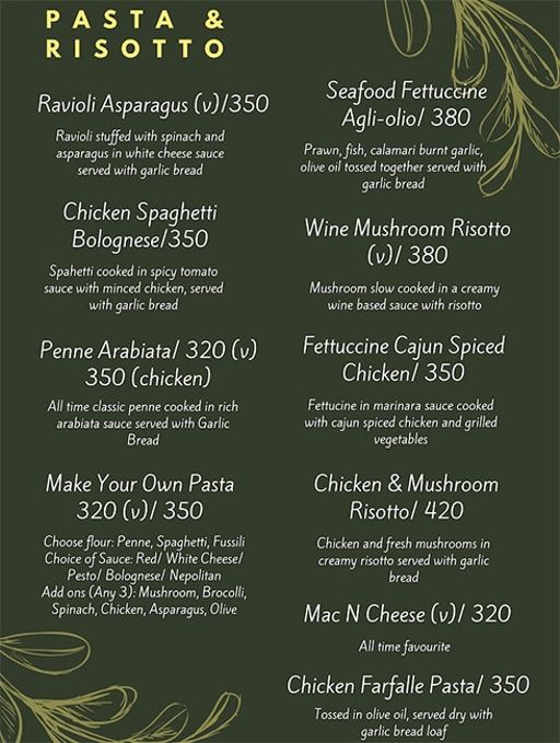 Food Menu 4 of Rike- Terrace Bar & Grill, Lokhandwala Complex, Andheri West, Mumbai