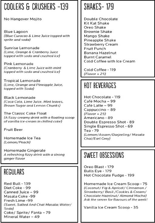 Food Menu 13 of Cafe 21, Preet Vihar, New Delhi