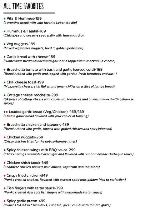 Food Menu 6 of Cafe 21, Preet Vihar, New Delhi
