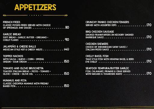 Food Menu 2 of Delicatessen, Marathahalli, Bangalore