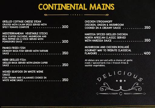 Food Menu 7 of Delicatessen, Marathahalli, Bangalore