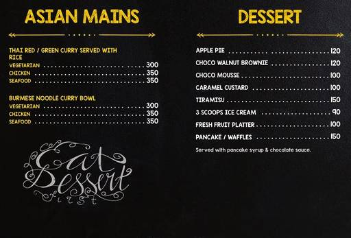 Food Menu 8 of Delicatessen, Marathahalli, Bangalore