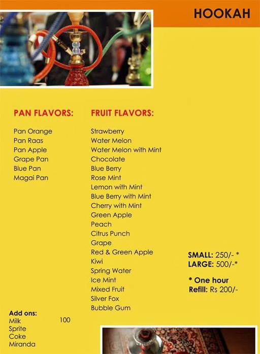 Menu 14 - Urban Solace - Cafe for the Soul, Ulsoor, Bangalore