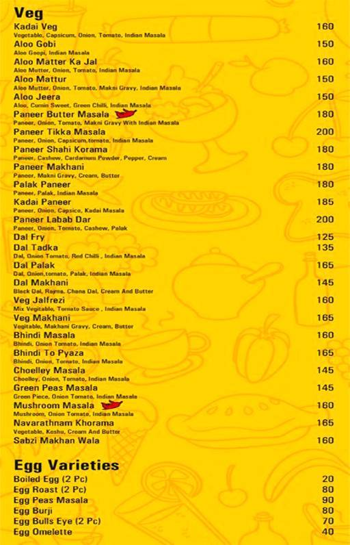 Food Menu 9 of Fattoush, Bannerghatta Road, Bangalore