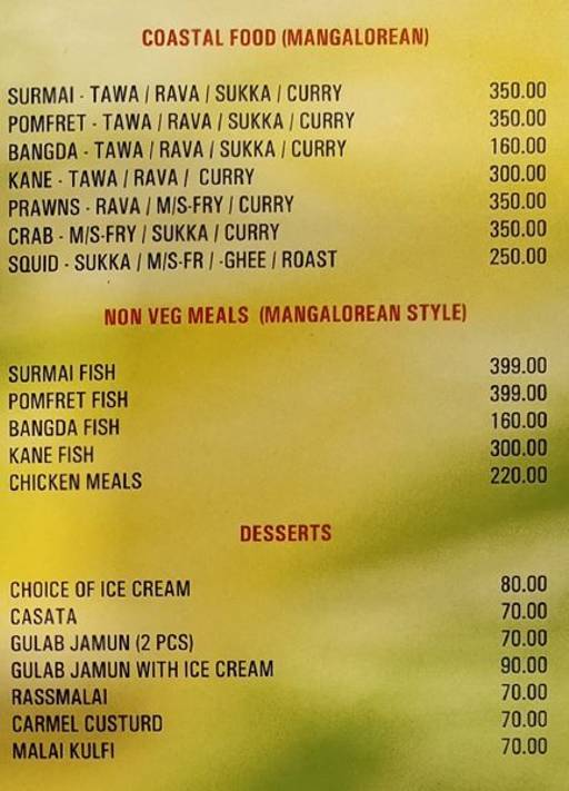 Food Menu 10 of Green Family Bar & Restaurant, Electronic City, Bangalore