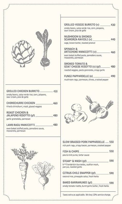 Food Menu 4 of Jamjar Diner, Versova, Andheri West, Mumbai