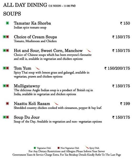 Food Menu 14 of Mosaic, Nagawara, Bangalore