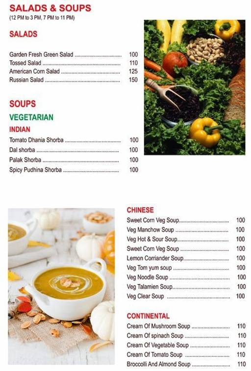 Food Menu 1 of Chef's Bank, Yeshwantpur, Bangalore