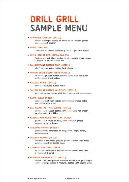 Food Menu 4 of The Grill Mill, DLF Cyber City, Gurgaon