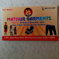 Store Images 2 of Mathur Garments