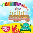 Rainbow Food Factory, Gomti Nagar, Lucknow logo